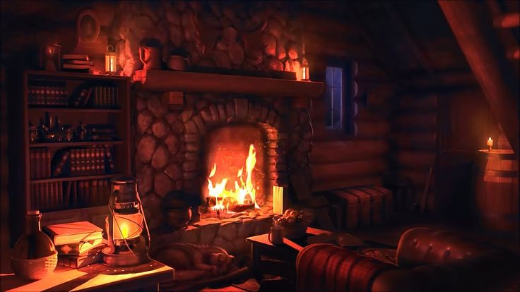 Wood Cabin Ambience   Heavy Blizzard Sounds for Sleep ...