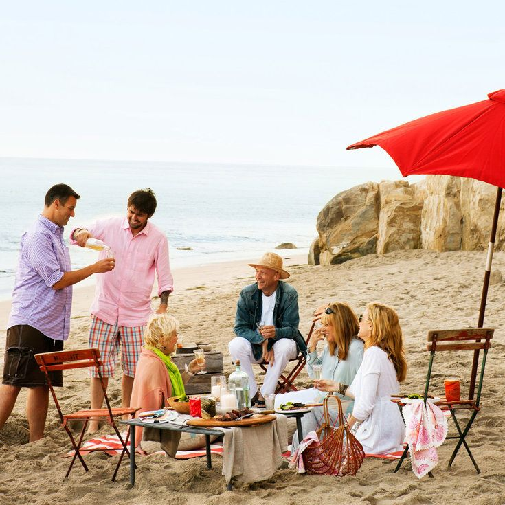 Ludo Lefebvre - Beach BBQ menu - Sunset