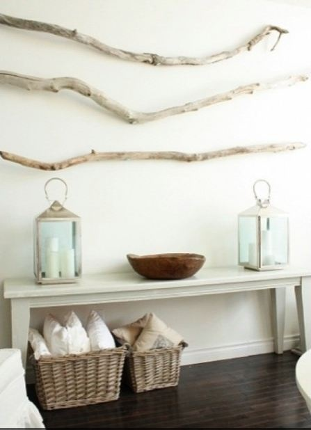 Coastal decor without the driftwood on the wall add some for Driftwood wall decor