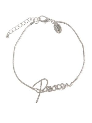 Barfota spring/summer jewellery 2014 Footchain crystal peace www.barfota.no