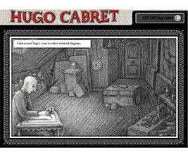 Hugo Cabret Flashlight Reader.  T  here's several other Battle of the Books titles on this, too!