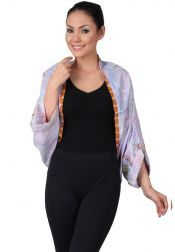 TRE Batik  TRE Batik Vest Batik Purple