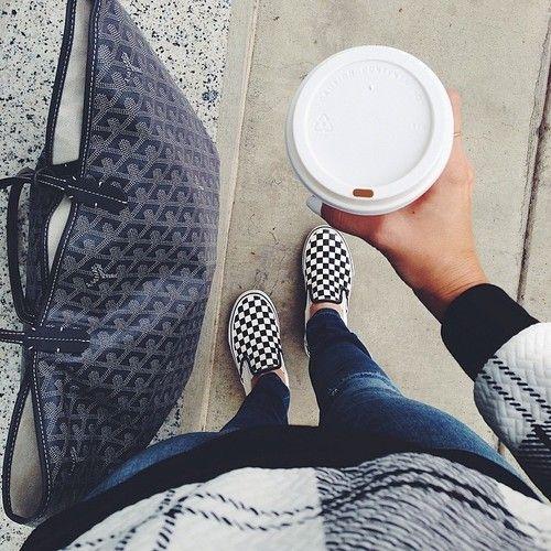 Coffee, goyard, vans