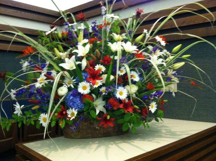 4th Of July Ribbon Wreath