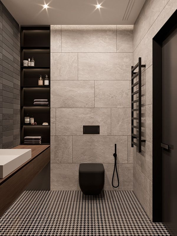 10 Small Bathroom Ideas For Minimalist Houses Modern Bathroom