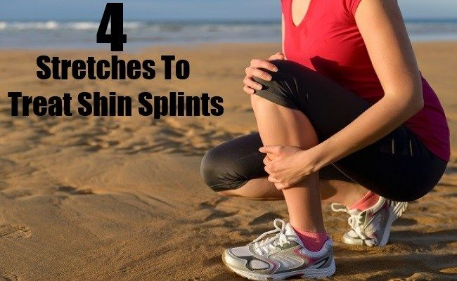 4 Beneficial Stretches To Treat Shin Splints