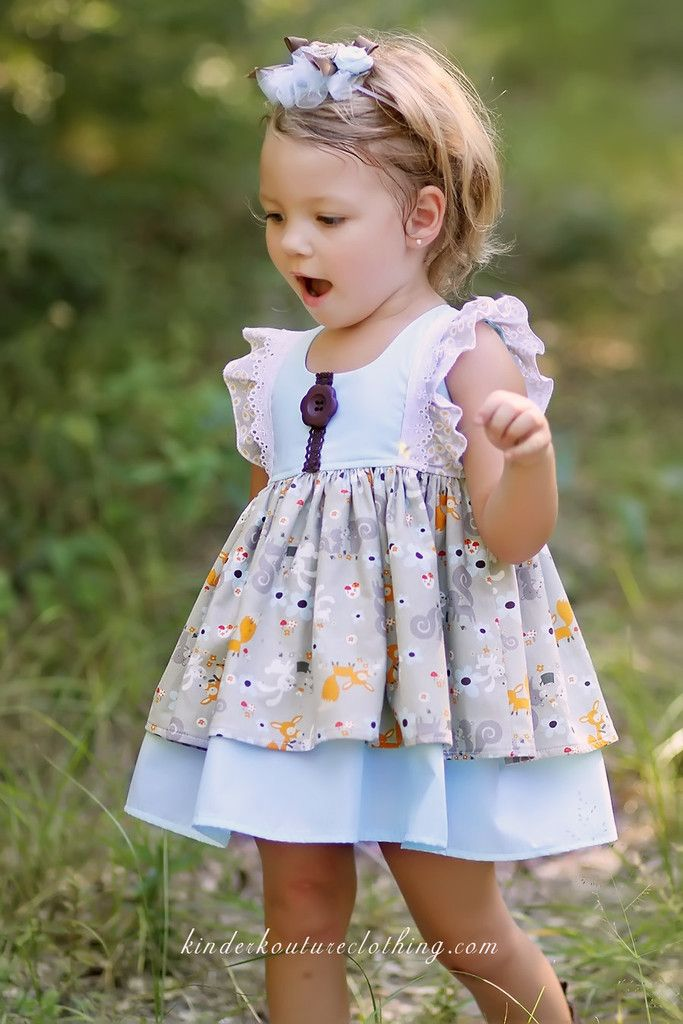 Fox and Friends Baby Dress – Kinder Kouture