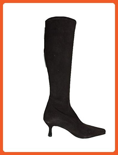 "Stuart Weitzman Womens Shapely Brown Suede Knee High 2.5"" Heel Boot, Size 4.5 M - Boots for women (*Amazon Partner-Link)"