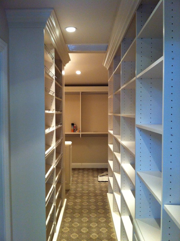 Can anyone really have enough closet space?  the answer is yes...if your design is just right!
