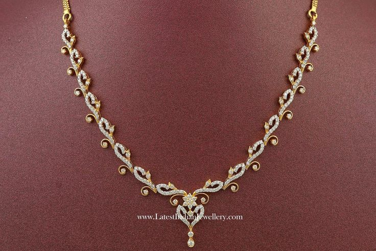 Affordable Indian Diamond Necklace Designs