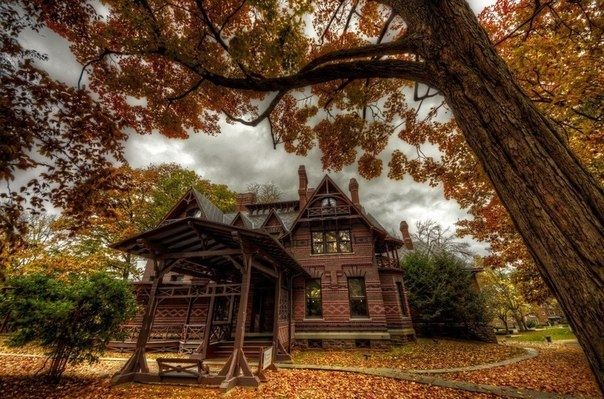 Дом Марка Твена в Хартфорде, штат Коннектикут - Путешествуем вместе