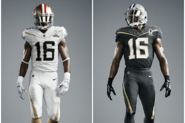 2016 NFL Pro Bowl Uniforms
