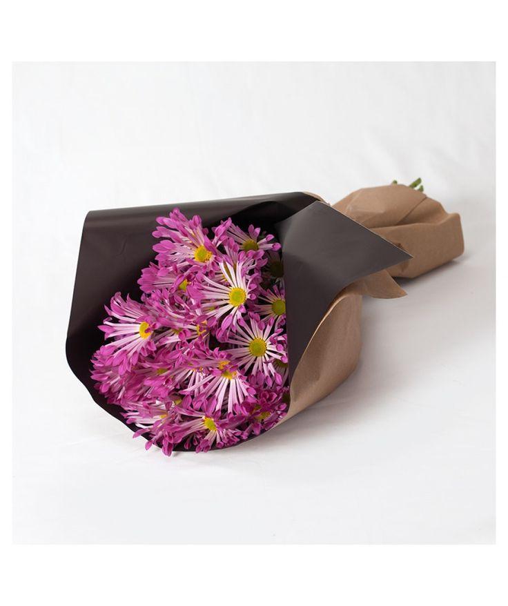 Favourite Colour Wrap - Subscription Wraps - Chrysanthemums