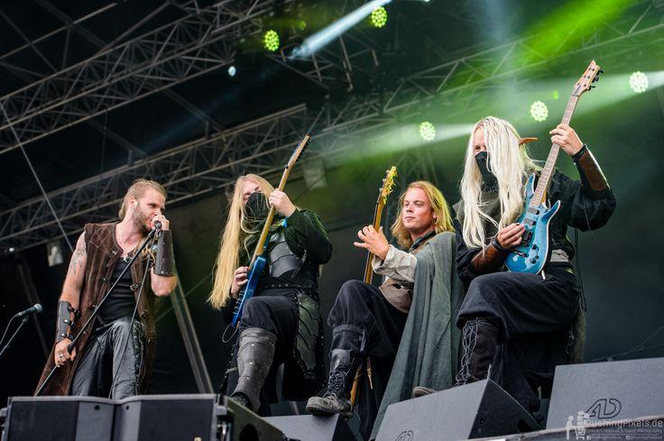 Twilight Force ⚫ Photo by Birger Treimer Photographics ⚫ Rockharz 2016 ⚫ #TwilightForce #music #metal #concert #gig #musician #Chrileon #Lynd #Born #Aerendir #singer #vocalist #frontman #guitarist #guitar #microphone #bass #bassist #ninja #mask #armour #armor #microphone #bracers #tattoo #beard #elf #cape #tabard #playing #coat #earrings #leather #blond #longhair #festival #photo #fantasy #magic #cosplay #larp #man #onstage #live #celebrity #band #artist #performing #Sweden #Swedish…
