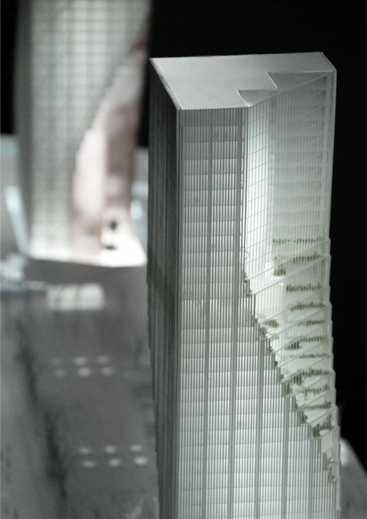 Architectural Model - Harbin Towers - Spatial Practice