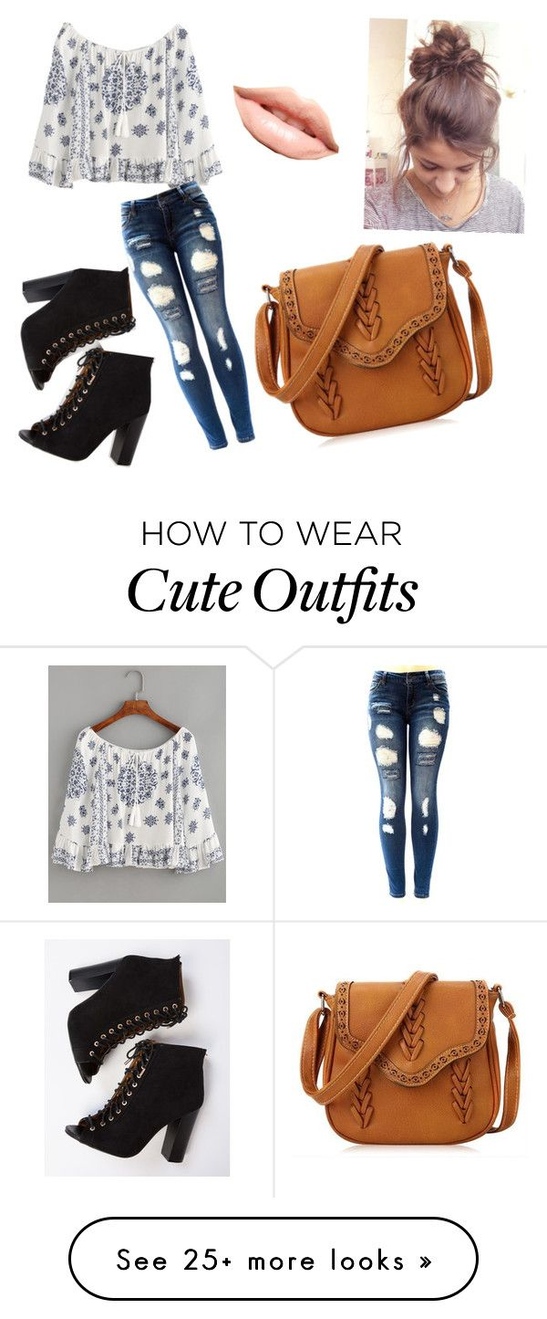 """""""The cute outfit"""" by ashrushzoo on Polyvore featuring MDMflow"""