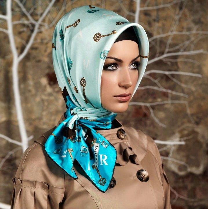 Turkish Hijab Styles-OOOO Cute!!!