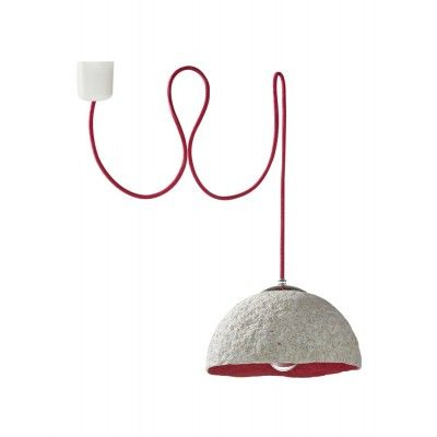 """Islands, Calabashes and Cocoons Lamps"" are designed to be used in rooms with a spirit and character."