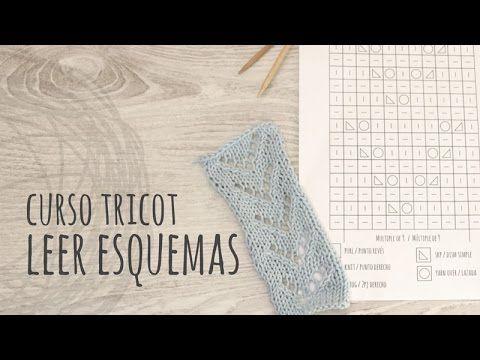 Curso Tricot - Cómo Leer Esquemas o Gráficos de Puntos - YouTube