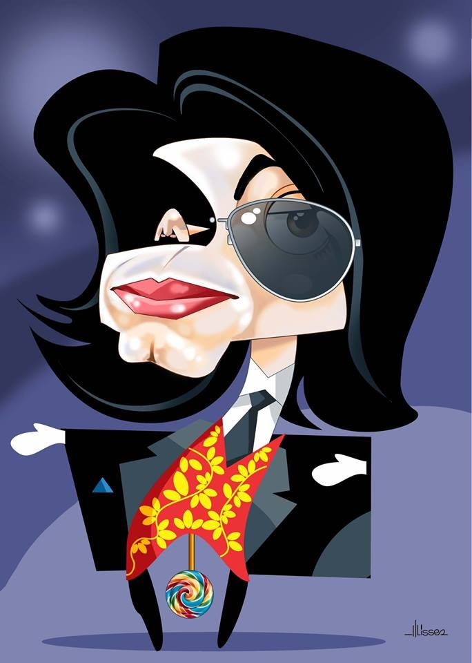201 best michael jackson caricature collection images on