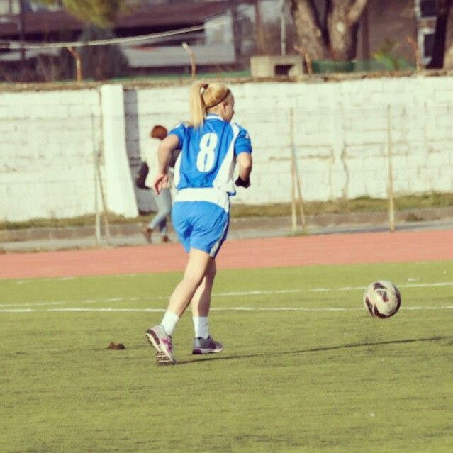 Talk with your feet..Play with your heart..#LoveMyTeam #LoveFootball