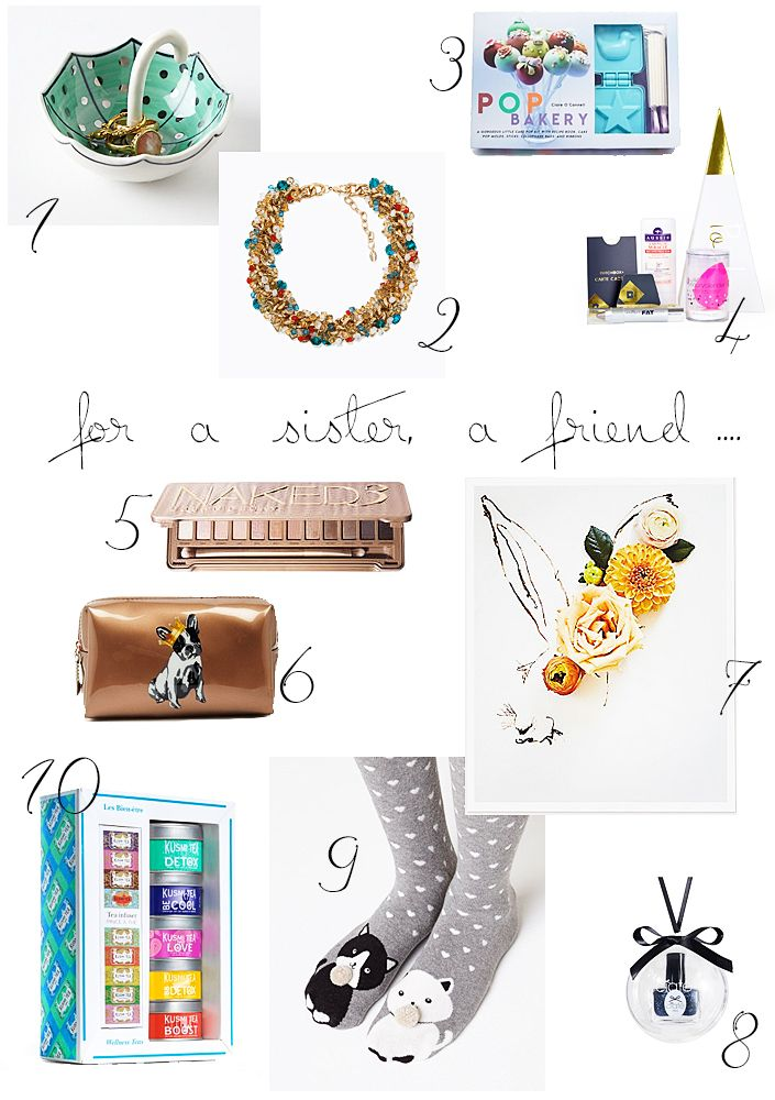 Christmas gifts ideas for her. How to please a sister or a friend.