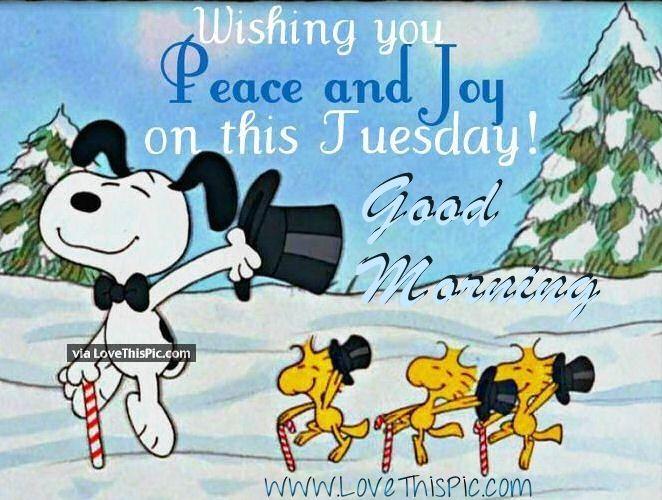 Good Morining Wishing You Peace And Joy On This Tuesday Good Morning Tuesday  Tuesday Quotes Good Morning Quotes Happy Tuesday Happy Tuesday Quotes Good  ...