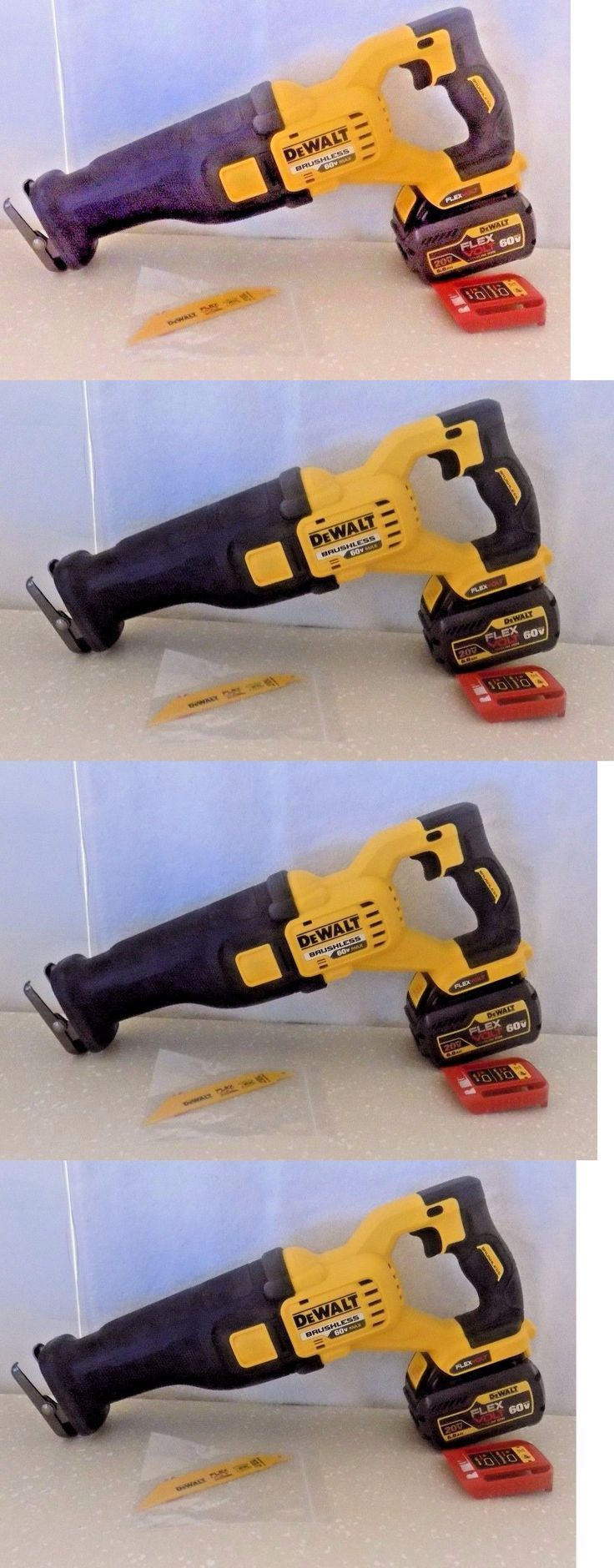 Reciprocating Saws 20788: Dewalt Dcs388b W One Dcb606 20 60V Max Reciprocating Saw And Blade -> BUY IT NOW ONLY: $199.99 on eBay!