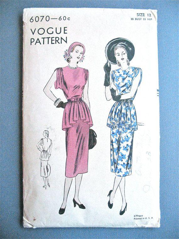 Mejores 16 imágenes de années 60\'s robes en Pinterest | Patrones de ...