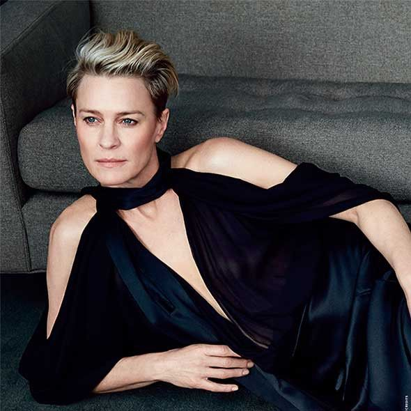 Robin Wright on marriage and the Claire Underwood haircut - Celebrity interviews - Good Housekeeping