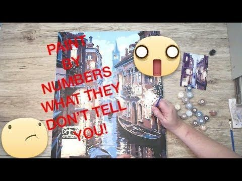 What They Don T Tell You Paint By Numbers Review Paint By Number Painting Blending Cards