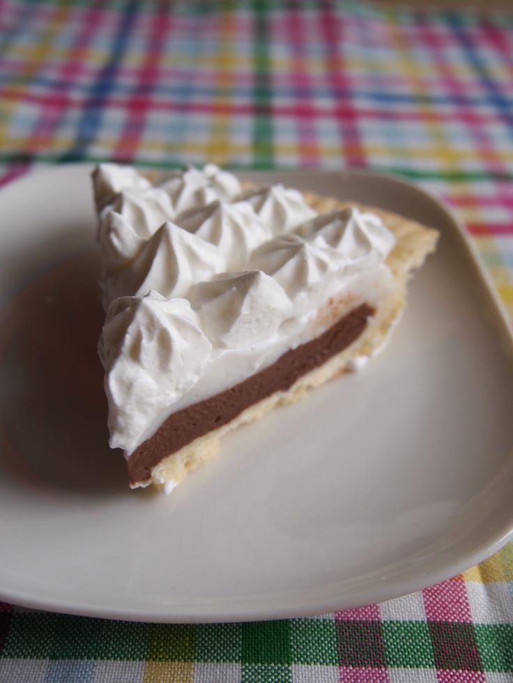 Chocolate Haupia Pie; Hawaii, USA
