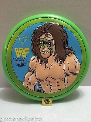 (TAS008456) - WWE WWF WCW Wrestling Ultimate Warrior Flying Disc