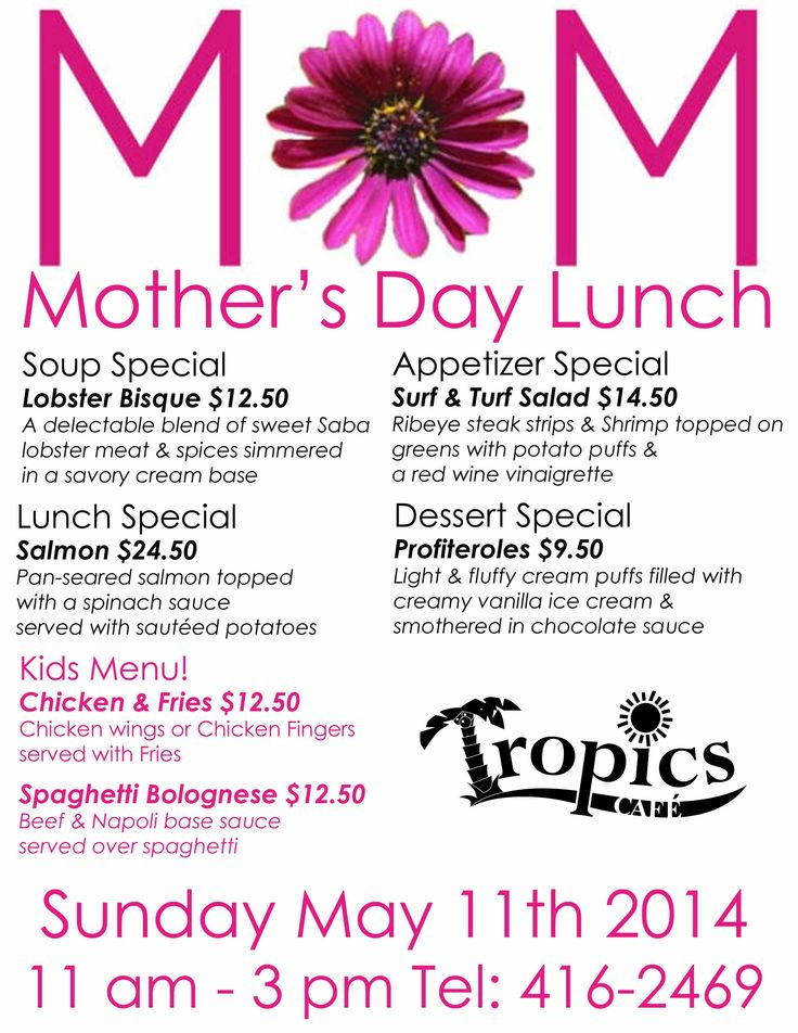 Happy Mother's Day Lunch