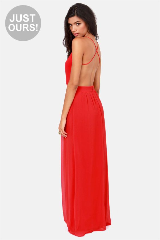 Ours maxi dress