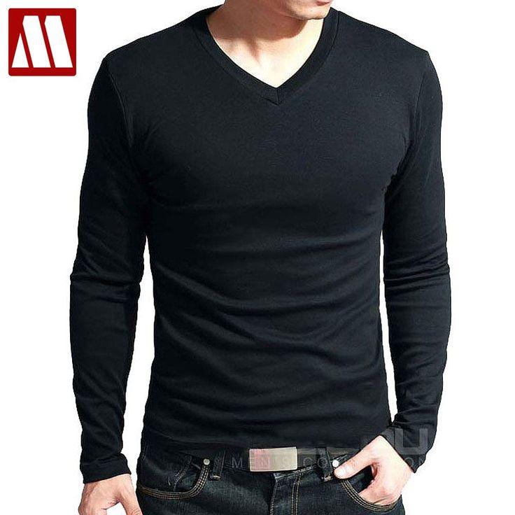 Hot Sale - Long Sleevea V-Neck Shirt For Men //Price: $14.95 & FREE Shipping //     #Clothing