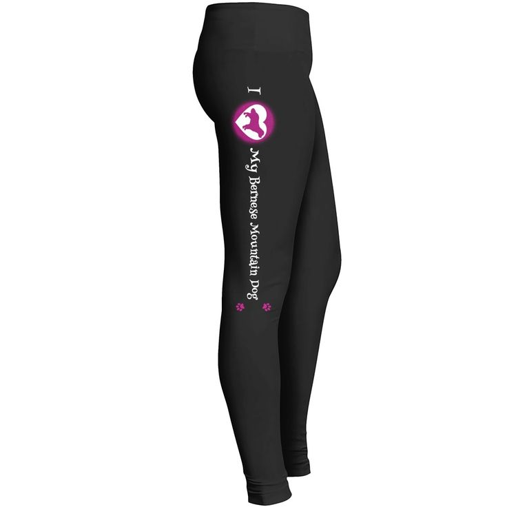 I Love My Bernese Mountain Dog Leggings for Bernese Mountain Dog Dog Lovers - You will love these! Great for Bernese Mountain Dog dog lovers, those who raise Bernese Mountain Dog puppies or involved in Bernese Mountain Dog rescue efforts. Design right leg only.  #Bernese Mountain Dog #Bernese Mountain Dogshirts #iloveBernese Mountain Dog # tshirts