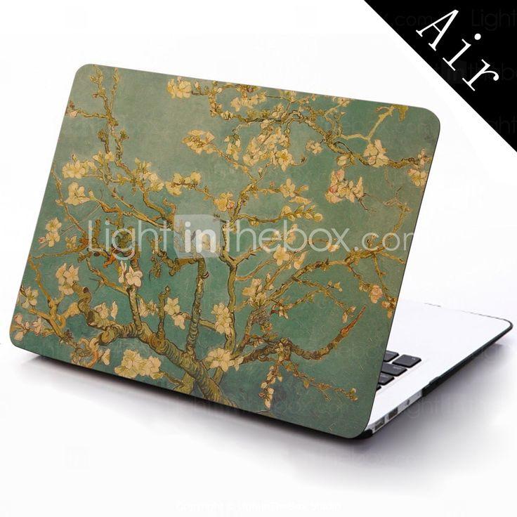 berømte maleri lmond træ af Van Gogh design hele kroppen beskyttende plastic tilfældet for 11-tommer / 13 tommer nye Mac Book luft 2015 – €196.00