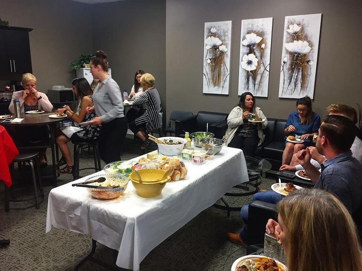 Office potluck day! So many people in the office have real estate AND food skills! We are a multi-talented bunch.  #remaxsprucegrove #potluck #deliciousness #remax #sprucegrove