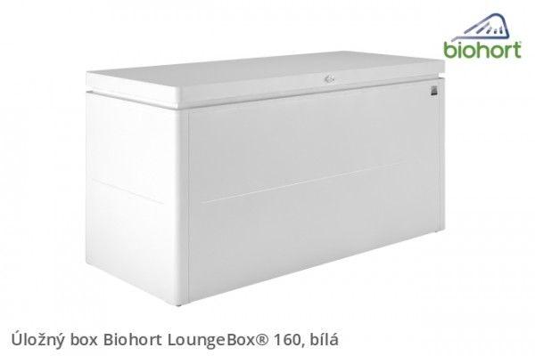 Úložný box LoungeBox® 160, bílá          - Kliknutím zobrazíte detail obrázku.
