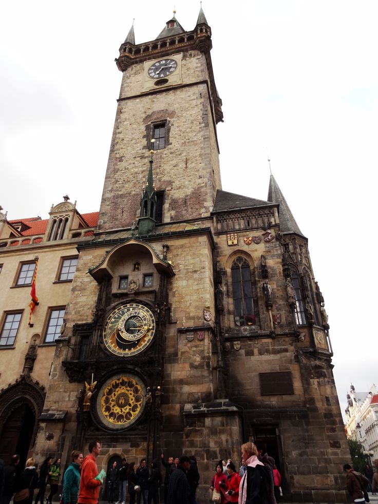 The clock, Prague - May 15 2014