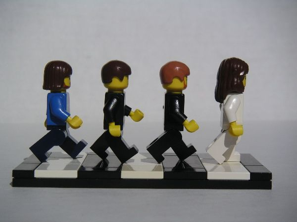 Lego Beatles :)