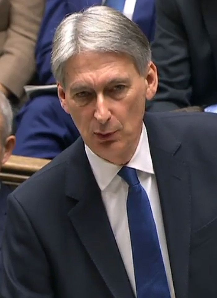 HAMMOND SPLASHES CASH Where is Wentworth Woodhouse and why was a £7m grant announced in the Autumn Statement? Chancellor Philip Hammond stuck the boot in as he made this announcement saying the historic house had been almost destroyed by a Labour government