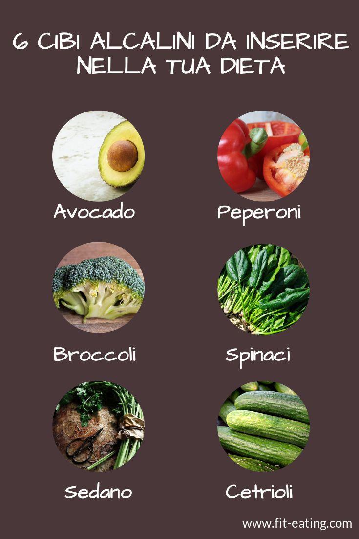 I cibi alcalini dovrebbero costituire il 70-80% della nostra dieta #cibialcalini #sanalimentazione