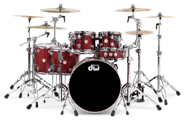 if i ever get an acoustic kit, i think dw would be awesome, and then zildjian cymbals...!