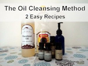 1000 Ideas About Oil Cleansing Method On Pinterest