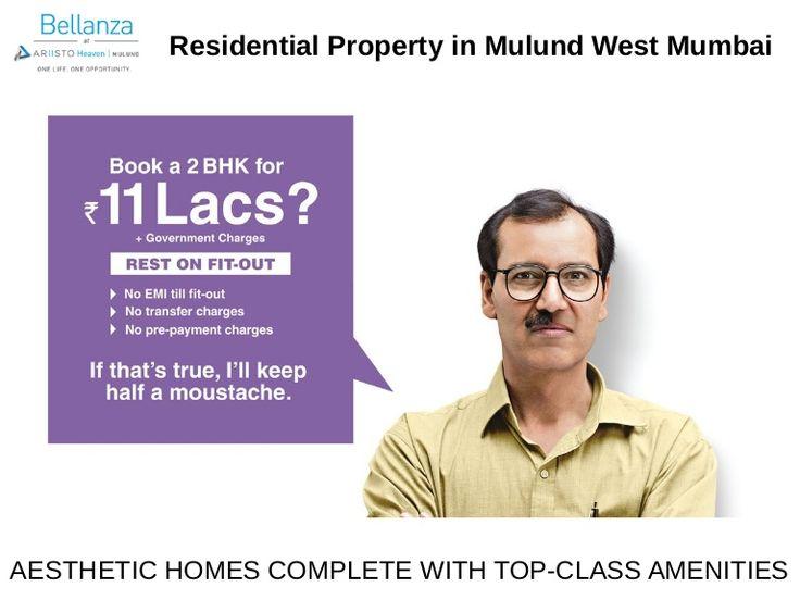 Ariisto Bellanza presents Residential Property in Mulund Mumbai