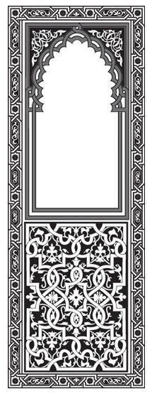 Black and White stencil beginning