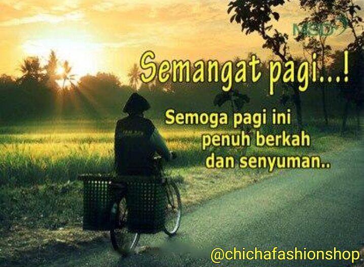 Selamat pagi semua :)