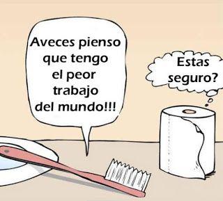#Humor ¿Estas segura que tenés un mal trabajo?